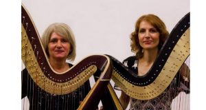 26. novembra 2017. koncert harfističkog dua