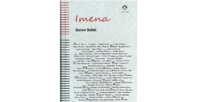 Goran Babić: IMENA