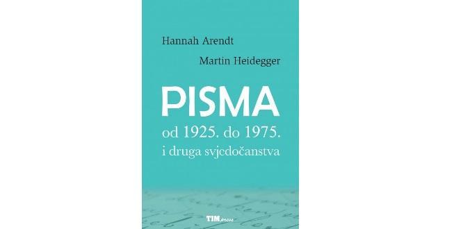 Hannah Arendt/ Martin Heidegger: Pisma