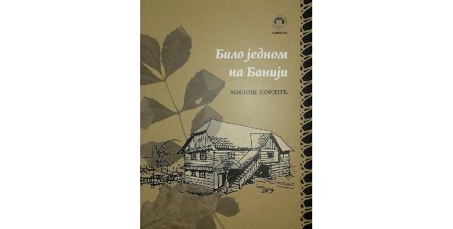 13.12.2018. BILO JEDNOM NA BANIJI – književni susret s Milošem Kordićem