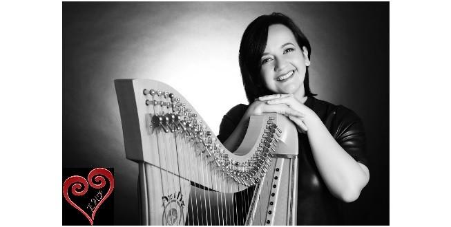 Koncert na harfi Branke Crowder